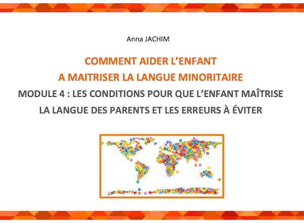 Guide sur le bilinguisme