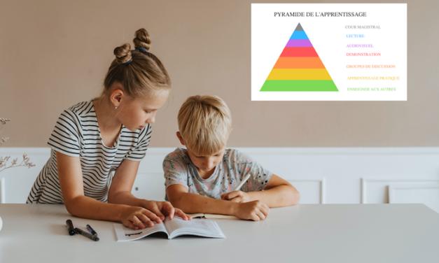 La pyramide de l'apprentissage et la transmission de langues minoritaires